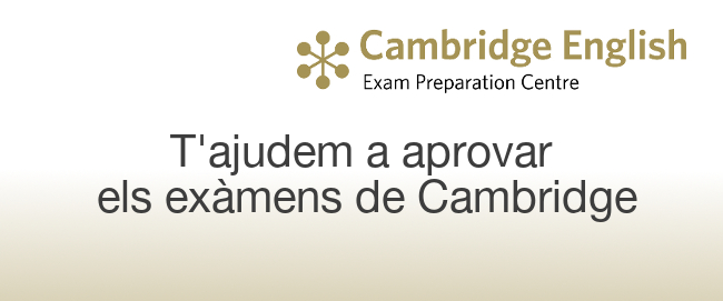 Centre preparador cambridge english